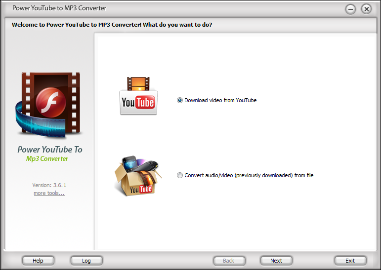 Click to view Power YouTube To Mp3 Converter 3.9.6 screenshot