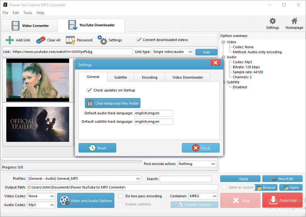 how to get realplayer to download youtube videos